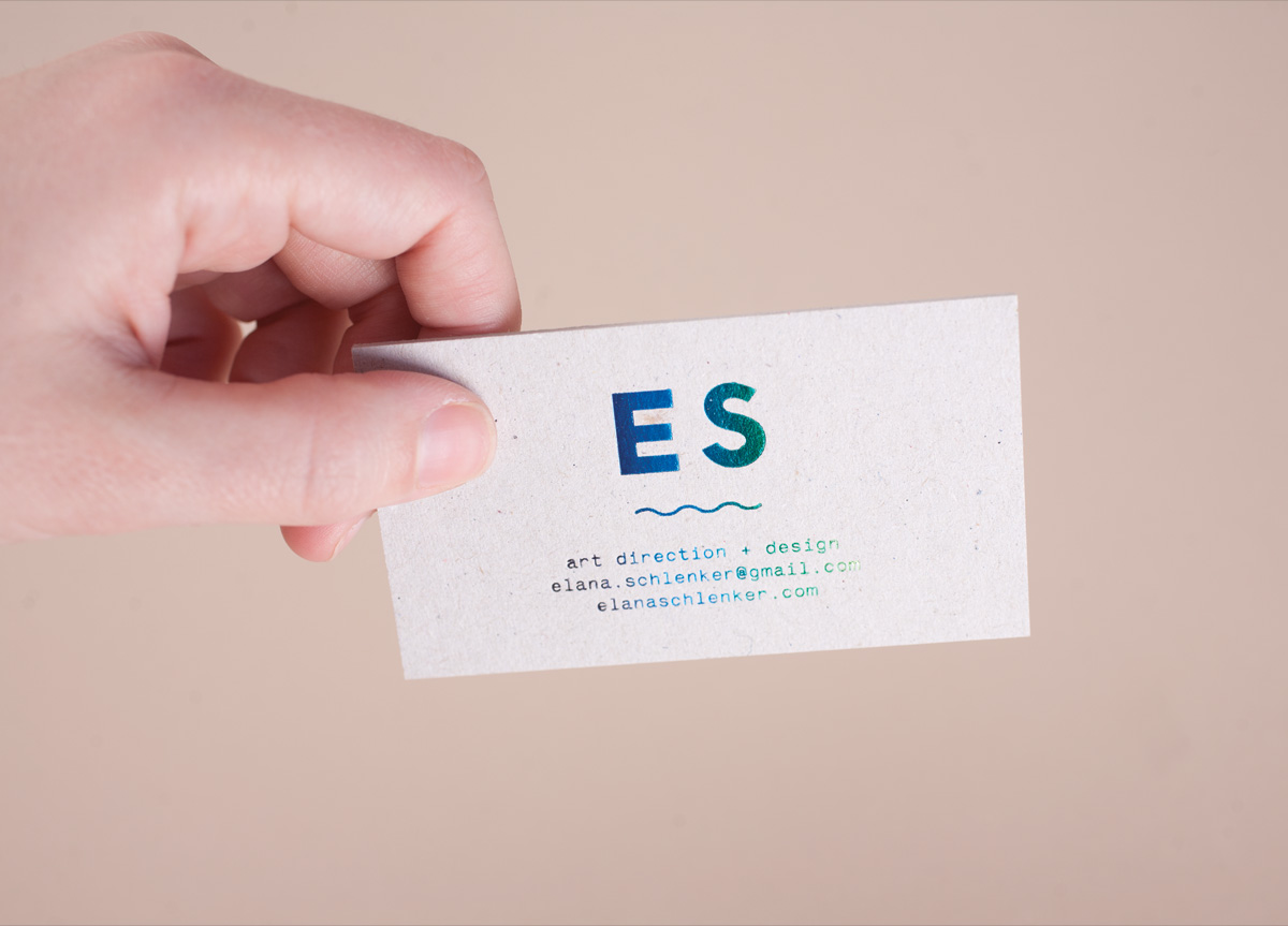 Business Card and Postcards for/by Elana Schlenker | 2011 FPO Awards