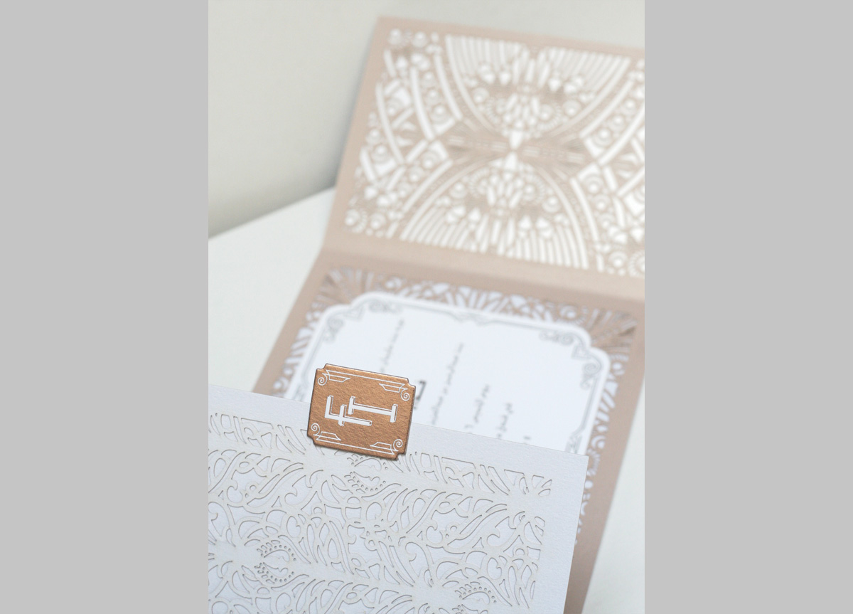 Wedding Invitation for Friends by Ceci New York