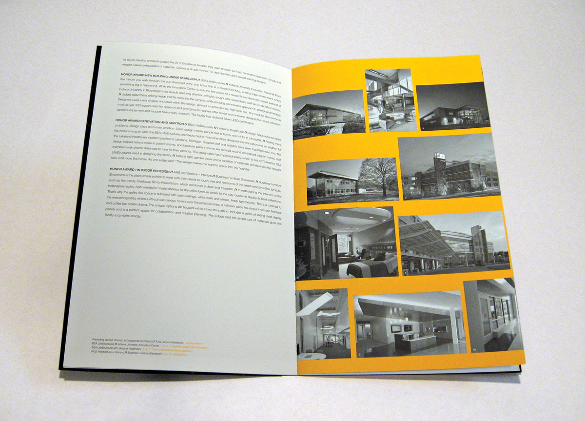 Booklet for AIA Indianapolis by Commercial Artisan