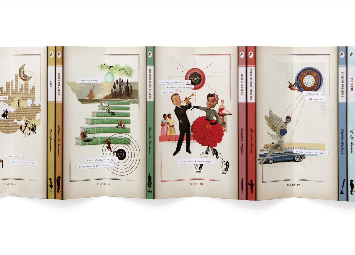Invitation set for St. Louis Public Library Foundation by TOKY Branding + Design