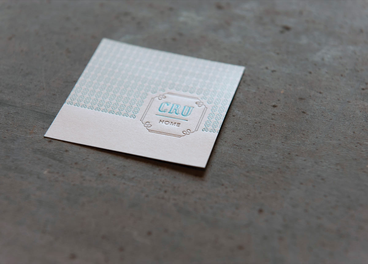 Stationery for Cru Home by Deuce Creative