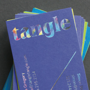 Business Card and Note Sheet for Tangle by Still Room
