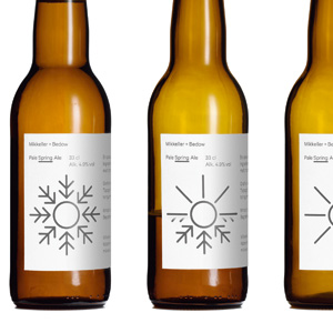 Packaging for Mikkeller by Bedow