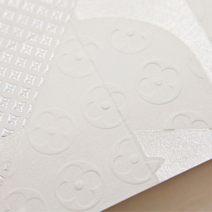 Invitation for Louis Vuitton by Happycentro for Ogilvy & Mather Paris