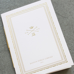 Wedding Materials for Winterfeldtt by Stitch Design Co.