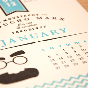 Calendar for Self-Promotion by Two Paperdolls