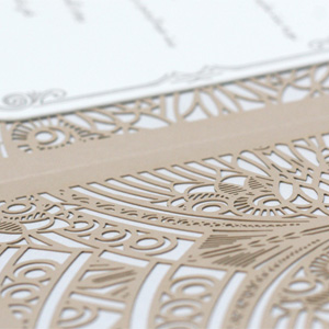 Wedding Invitation for Friends by Ceci New York