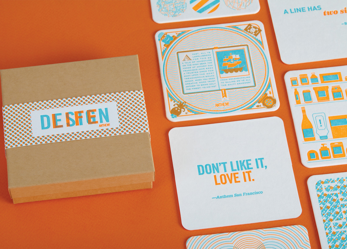 Gift for Self-promotion by Anthem Worldwide — San Francisco