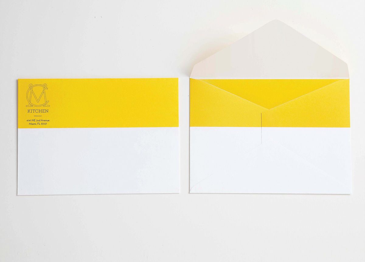 Identity Materials for MC Kitchen by OCD | The Original Champions of Design