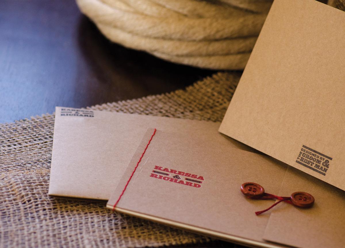 Wedding Invitation for Karessa Tagle and Richard Sison by Richard Sison