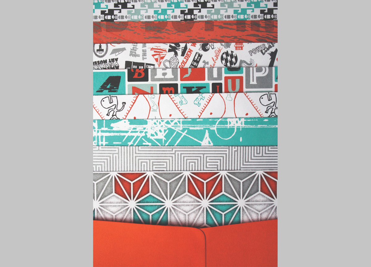 Wrapping Papers for Self-promotion by Orange Element