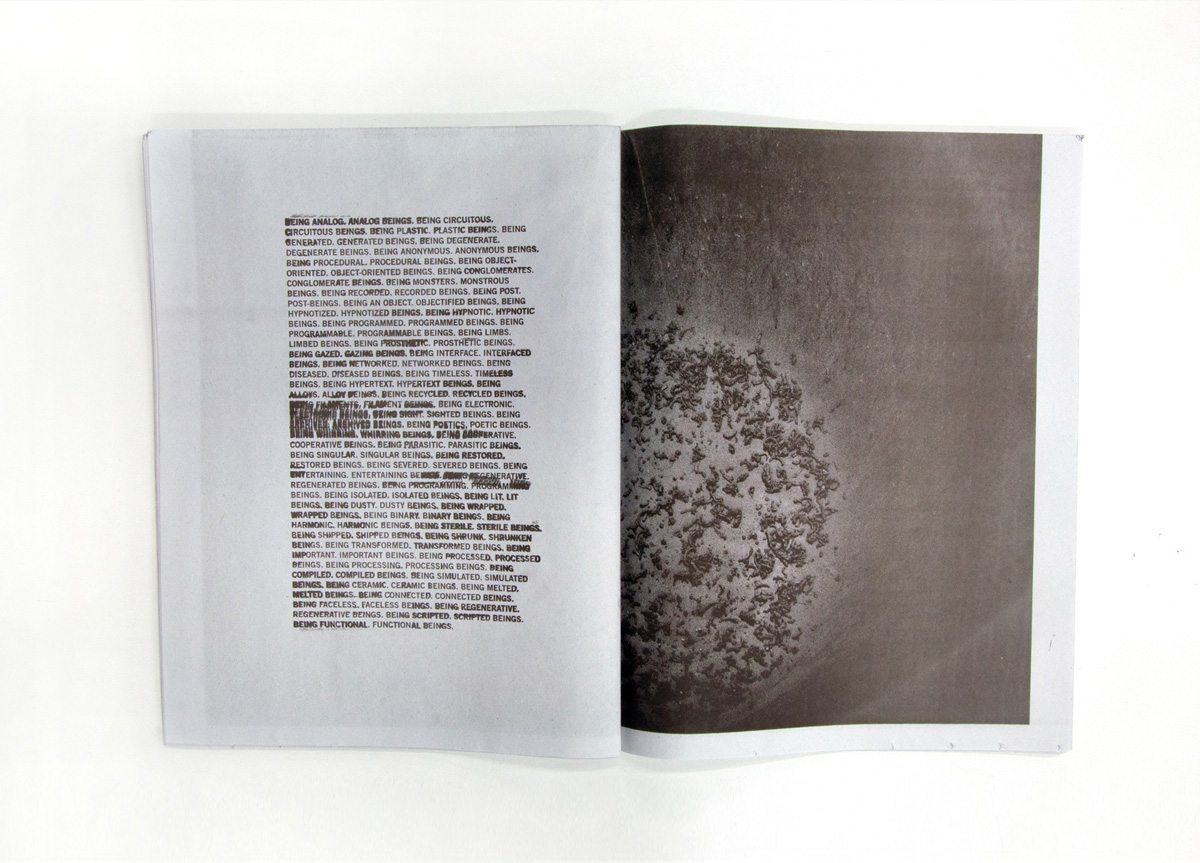Booklet for David Peters by Arcadian Studio