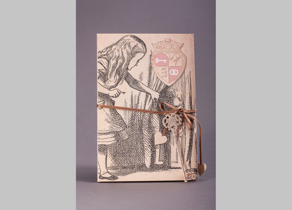 Wedding Invitation for Sabrina and Hubert by Die exklusiven Einladungskarten
