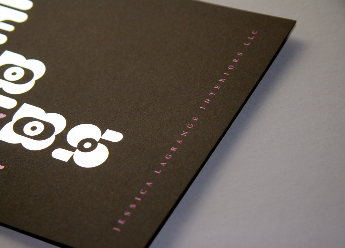 Greeting Card for Jessica Lagrange Interiors by Thirst/3st