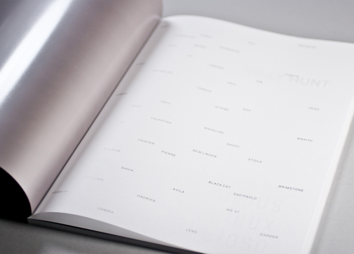 Brochure for Holly Hunt by Thirst/3st