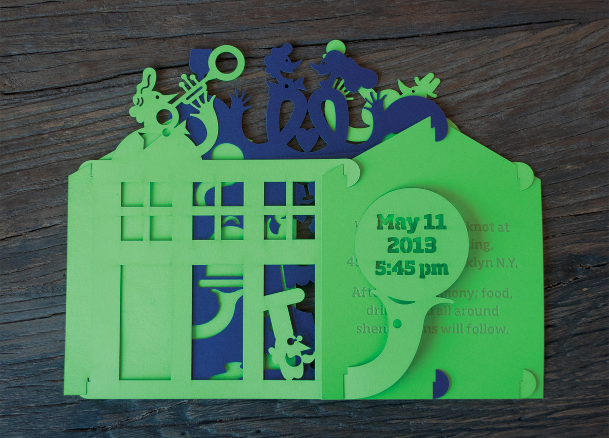 Save the Date and Wedding Invitation for Jason and Robin by JasonLynch