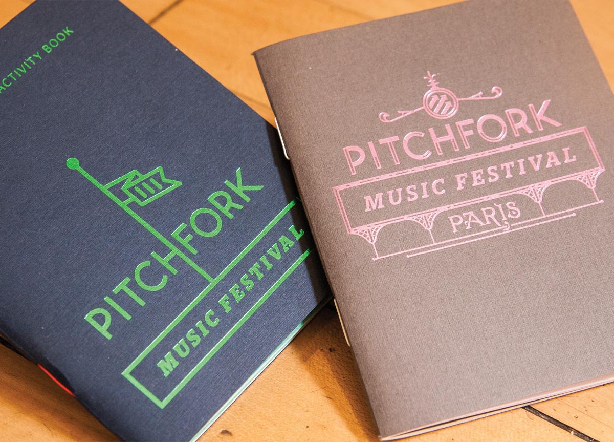 Booklet/Guide for Pitchfork Music Festival by Pitchfork