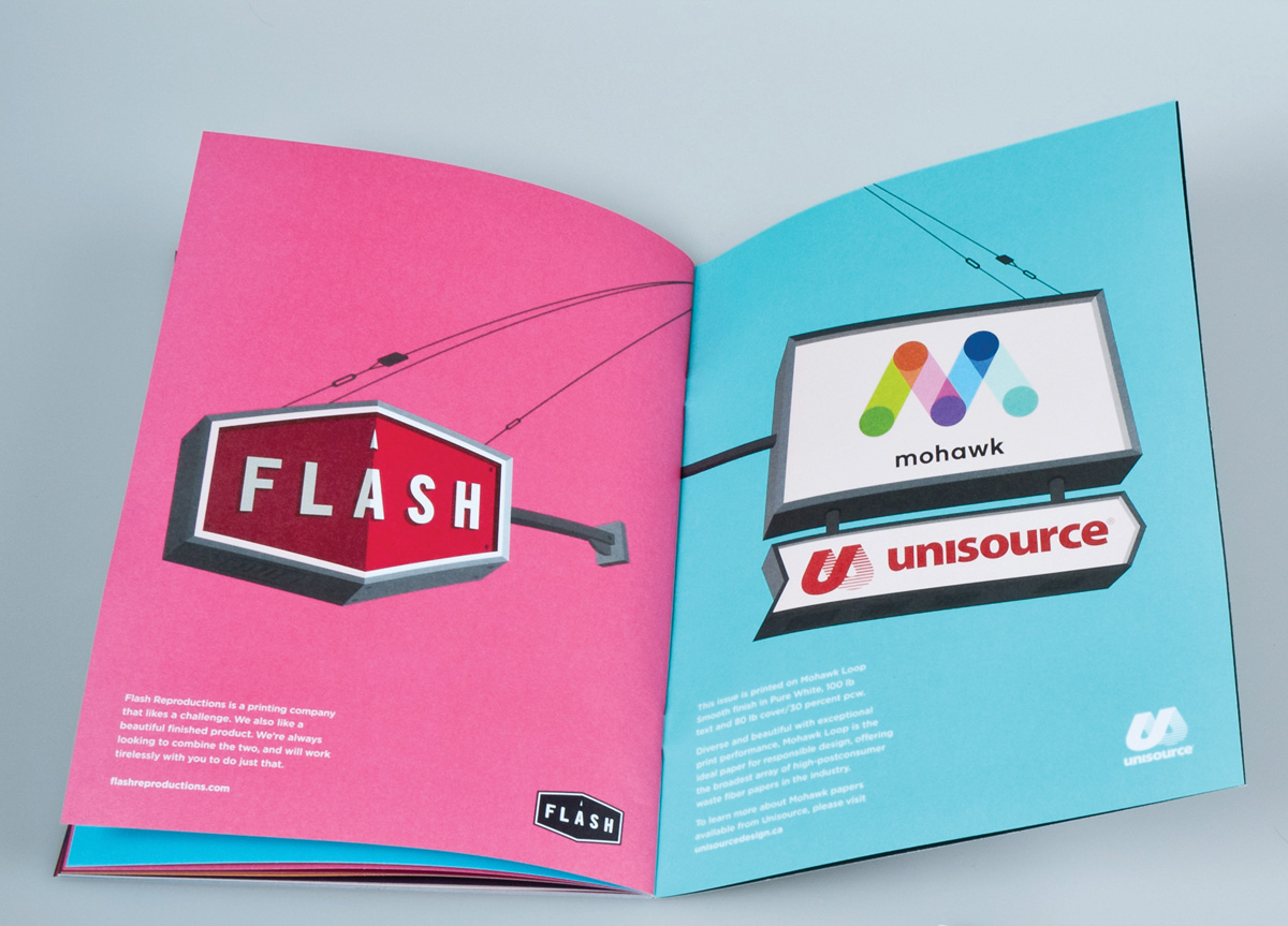 Magazine for/by Flash Reproductions