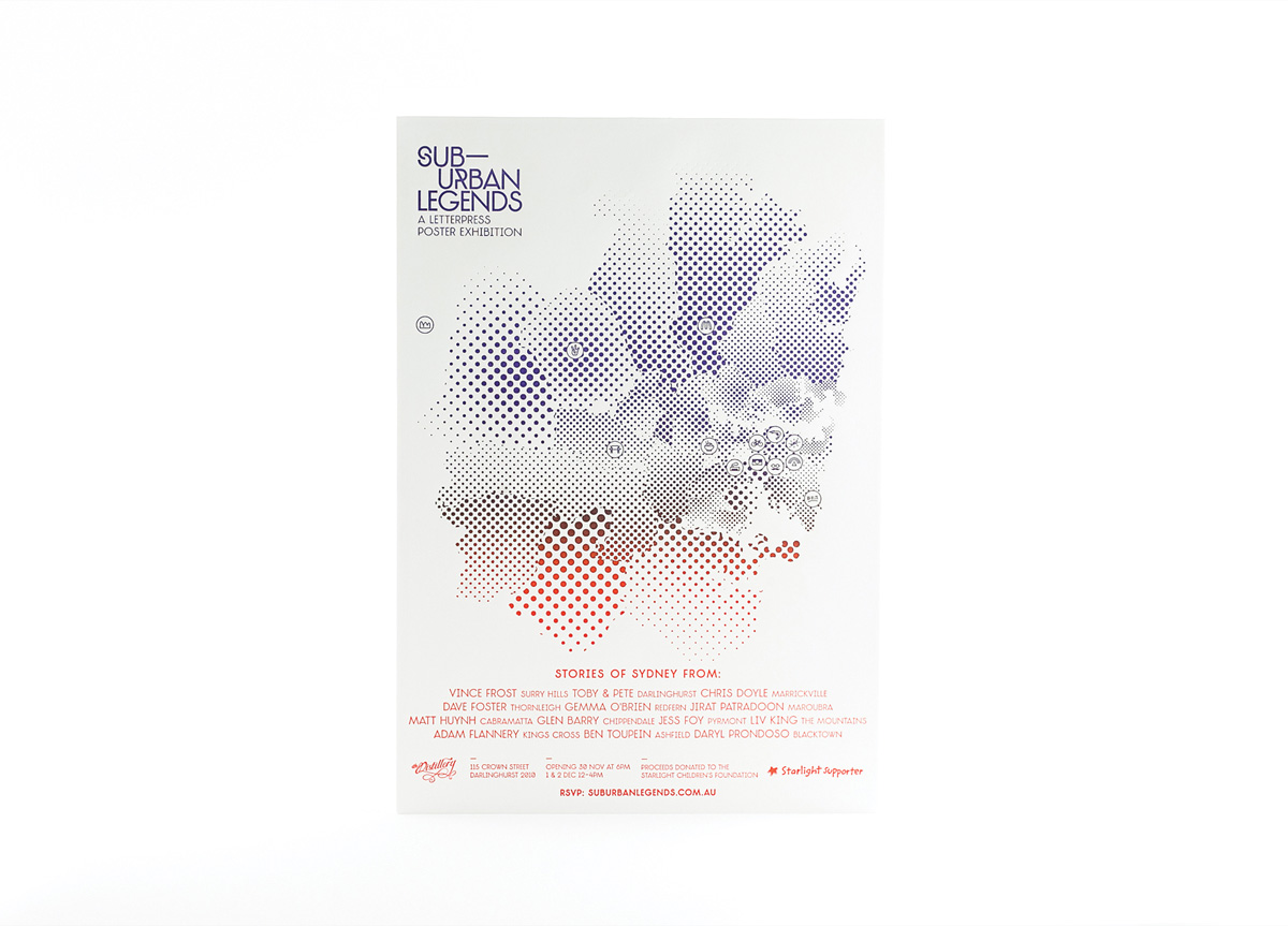 Invitation for The Starlight Children's Foundation by The Distillery