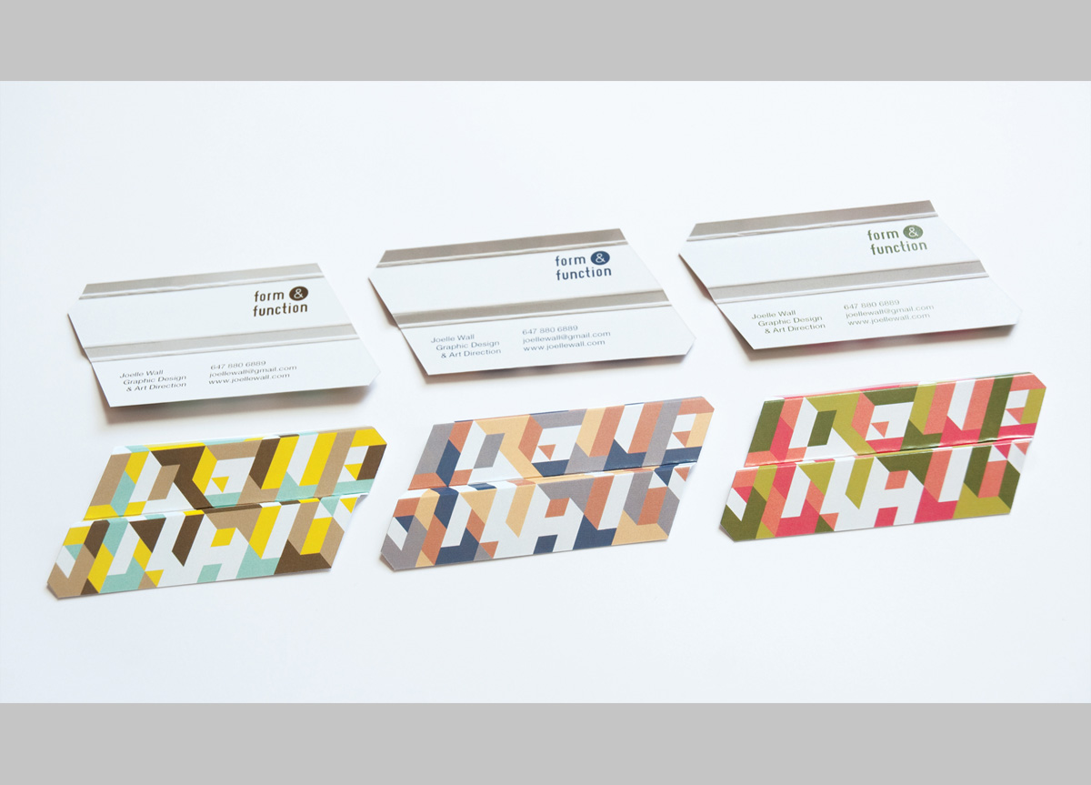 Business Cards for/by Joelle Wall