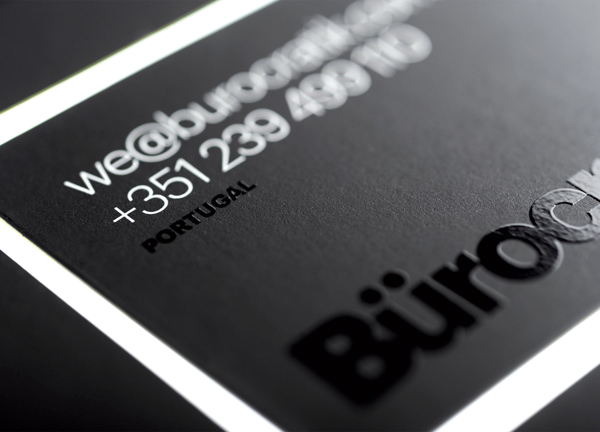 Business Card for/by Bürocratik | 2012 FPO Awards