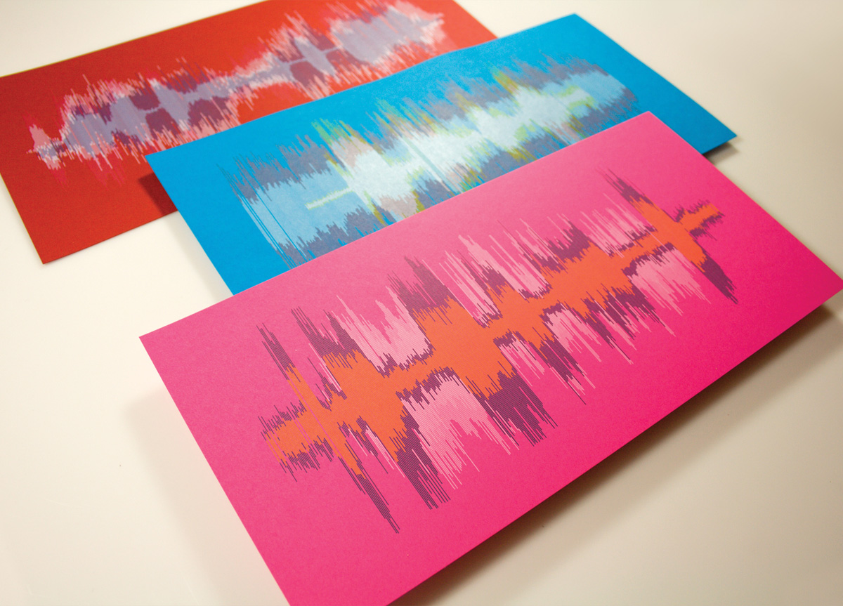 Art Prints for AIGA Chicago and Unisource by Hexanine