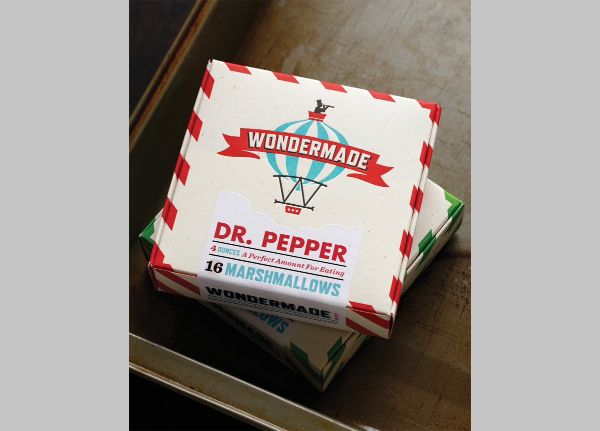 Packaging for Wondermade by The Heads ofState
