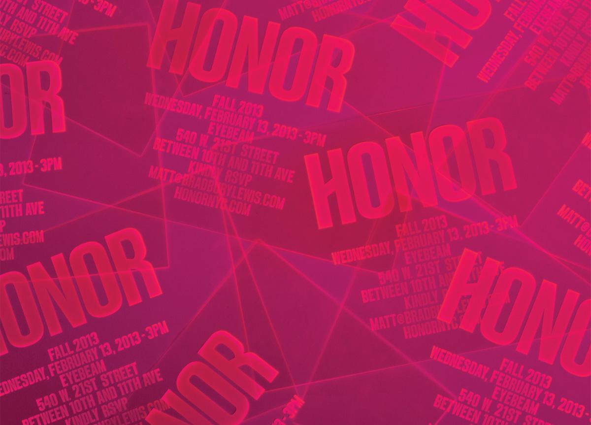 Invitation for Honor by RoAndCo Studio