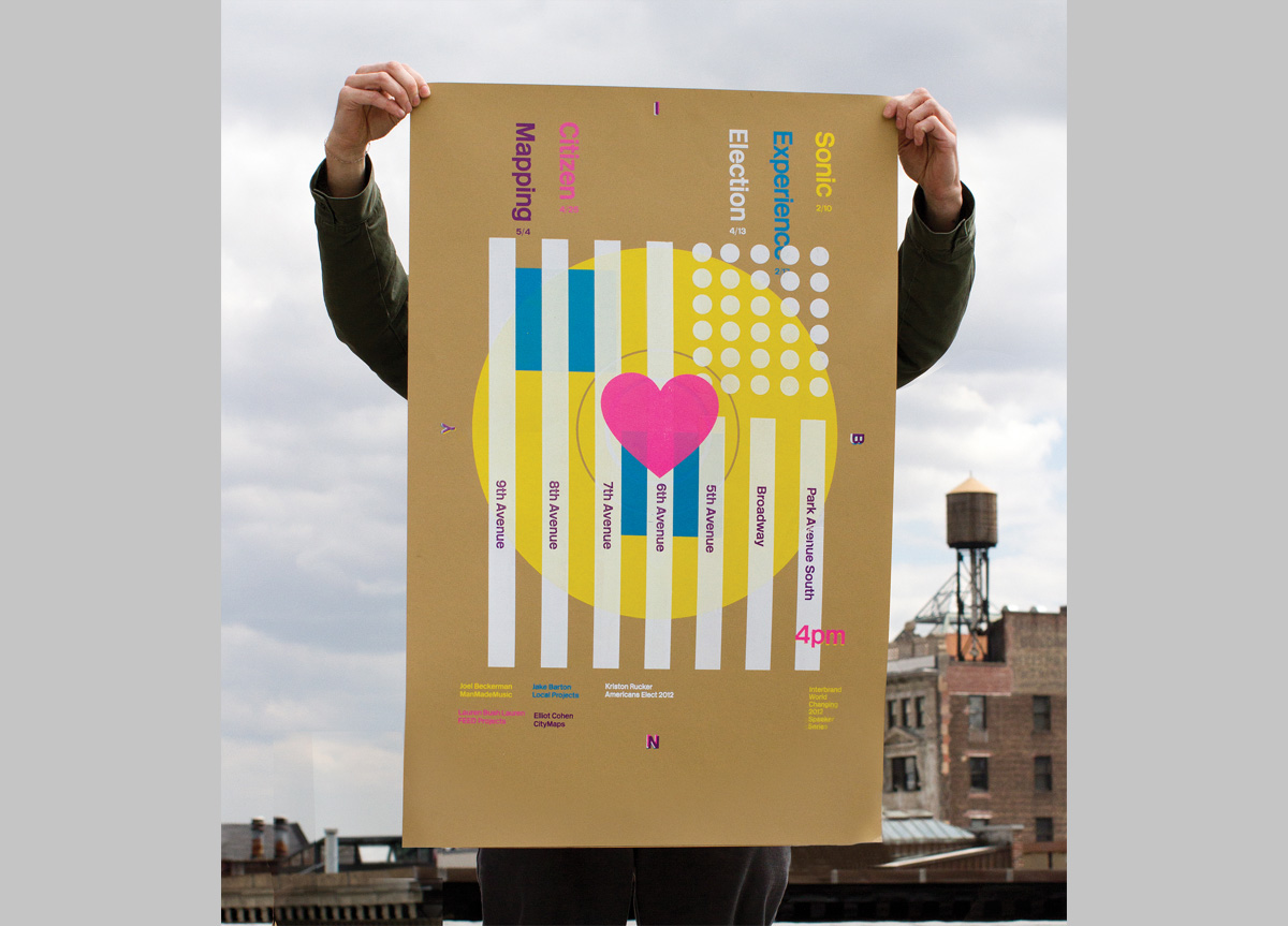 Posters for Speaker Series by Interbrand