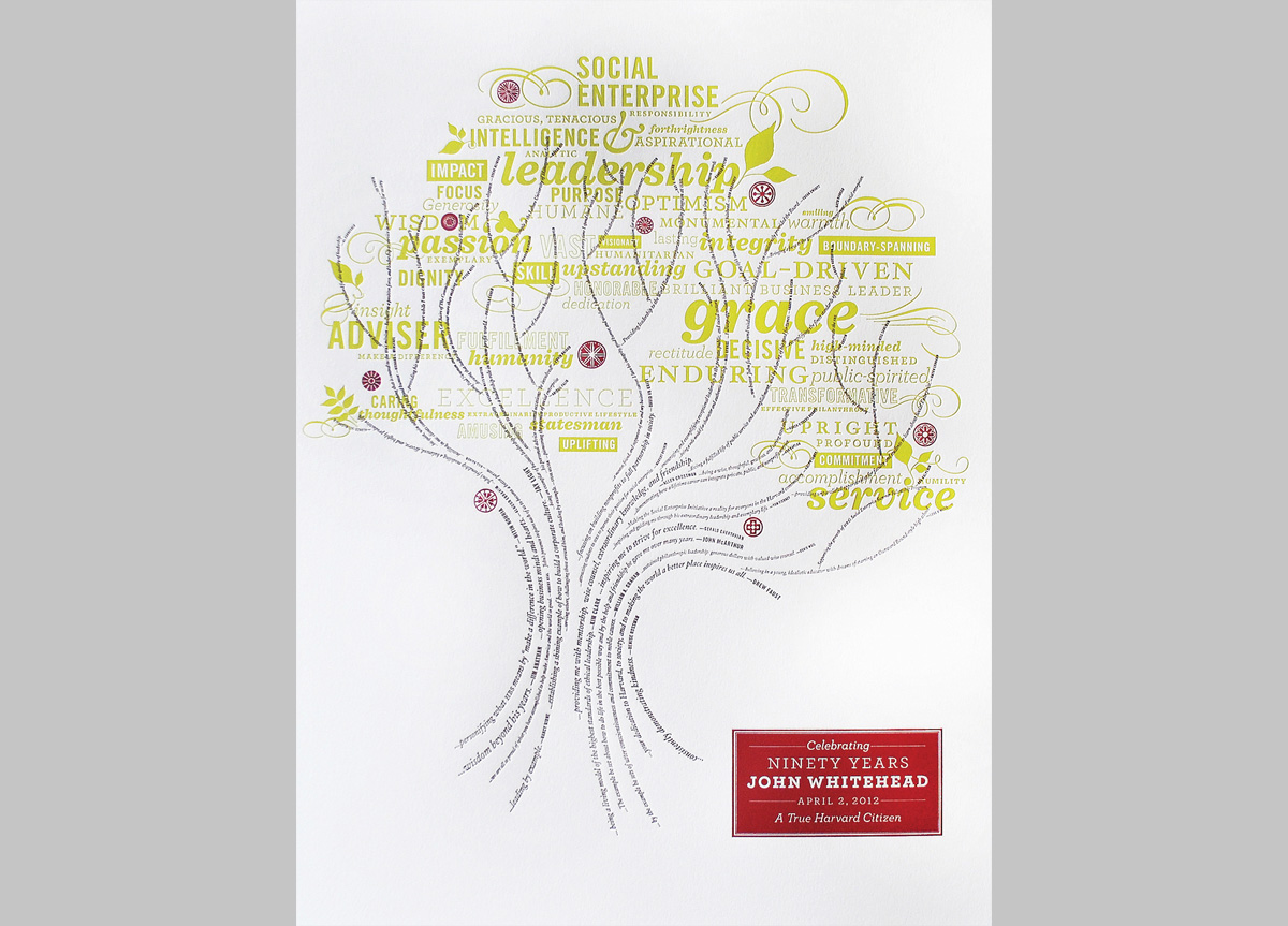 Poster for Harvard Business School by Stoltze Design