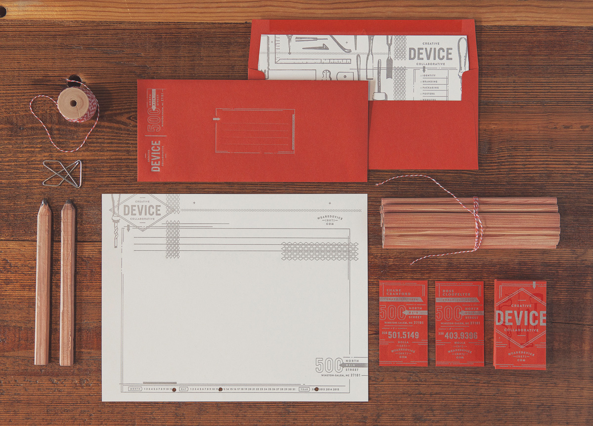 Stationery for/by Device Creative Collaborative