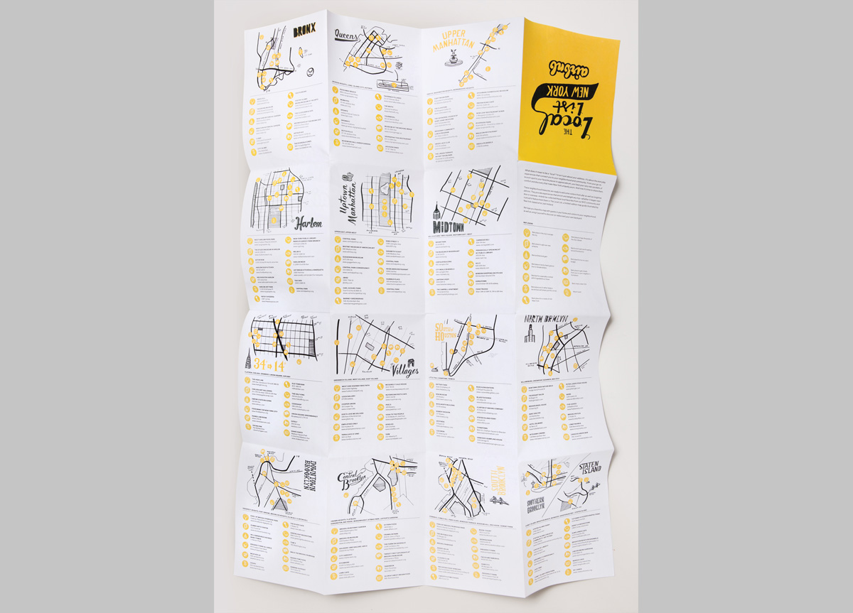 Map, Buttons, Tote Bag, and Signage for/by Airbnb