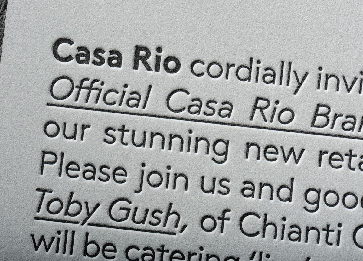 invitation for casa rio by chapel press 2012 fpo awards