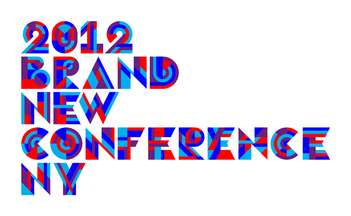 2012 Brand New Conference Identity