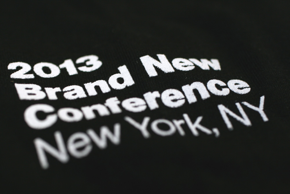 2013 Brand New Conference Identity